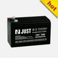 China Valve Regular Lead Acid Battery 12V 7ah Accumulator for Electricity on sale