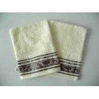 China 100% Cotton Jacquard Terry Towel Gloves on sale