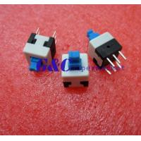 Quality 20PCS 8X8mm Blue Cap Self-locking Type Square Button Switch NEW GOOD QUALITY SW1 for sale