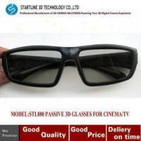 Quality Fashionalble Circular Polarized 3D Passive Glasses Which Used for 3D TV, Cinema for sale