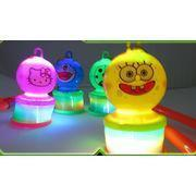 Quality rb861 Christmas OEM children glowing plastic toy cartoon topic for sale