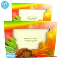 Quality Products Different pattern and color photo frame custom design 20.7*15.5 cm paper photo frame for sale