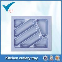Quality Kitchen drawer plastic cutlery tray for sale