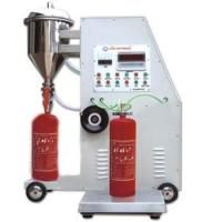 Buy cheap FM-08 Automatic type fire extinguisher powder filler technical FIRE EXTINGUISHER REFILLING MACHINE from wholesalers