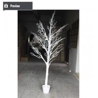 High quality PU artificial coral tree white dry tree branch f