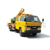 Quality Highway collision repair Highway Guardrail Post Pounder Truck for sale
