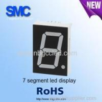 "Quality 0.39"" single digit green color7 segment LED display manufacturer for sale"