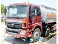Quality FOTON 21 CBM Heavy Duty 3 Axle Oil Tank Truck for sale
