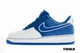 Buy Cheapest Nike Air Force 1 Hyper Blue / Hyper Blue - White Outlet BU501211 at wholesale prices