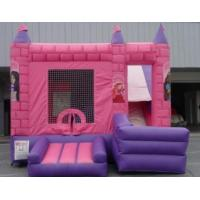 Quality pink princess bounce for sale