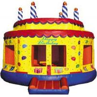 Quality birthday cake bounce XZ-BH-032 for sale