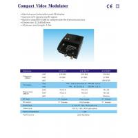 China Amplification Compact video Modulator on sale