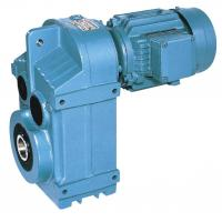 Quality P series parallel shaft helical geared motor for sale