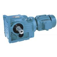 Quality T series helical-bevel geared motor for sale