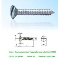 Quality SELF-DRILLING-TAPPING SCREWS Countersunk Head Tapping Sc for sale