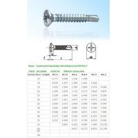 Quality SELF-DRILLING-TAPPING SCREWS Countersunk head philips se for sale