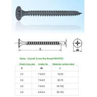 Quality SELF-DRILLING-TAPPING SCREWS Drywall Screw fine thread DIN18182 for sale