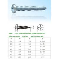 Quality SELF-DRILLING-TAPPING SCREWS Cross Recessed Pan Head Tap for sale