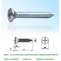 Quality SELF-DRILLING-TAPPING SCREWS Cross Recessed Countersunk for sale