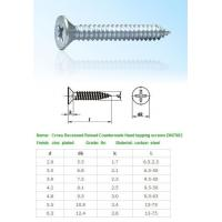 Quality SELF-DRILLING-TAPPING SCREWS Cross Recessed Raised Count for sale
