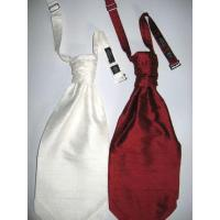 Quality Ties Polyester Dupion Pre tied Cravats for sale
