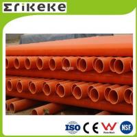 Quality PVC pipe and fittings Low price colored electrical pvc pipe sizes for sale