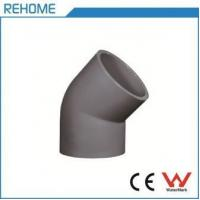 Quality PVC-U ASTM D 1785 SCH80 PVC-U 45 Deg Elbow for sale