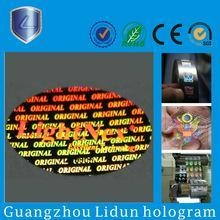 Buy Transparent hologram stickers at wholesale prices