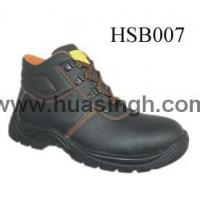 Quality Hotselling Product embossed leather anti-hit safety work boots for sale