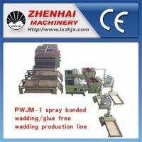 Buy PWJM-1 Spray bonded wadding/Glue free wadding Production Line(with two usages) at wholesale prices