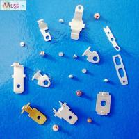 Quality Precision stamping parts bimetal contact rivet for automotive electrical appliance for sale