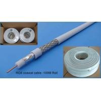 Quality CCTV Series 0.8mm CCS RG6/RG6U Coaxial Cable for sale