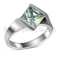 OAR0286 solid silver ring wedding ring