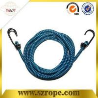 Quality good quality bungee cord with double metal hook Pass 88LBS test for sale