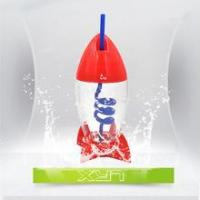 China Cartoon plastic water bottle for kids High quality OEM manufactory on sale