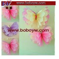 China Occasions & Events Wedding Party Birthday Decorations Tissue Paper Pompoms POM Poms on sale