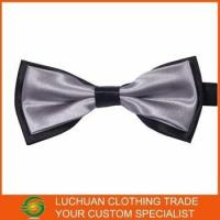 Quality Best Selling Shiny Satin Man Bow Tie for sale