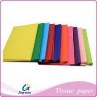 Buy cheap mixed solid color tissue paper Floral wrapping paper flower packing material 50*50cm from wholesalers