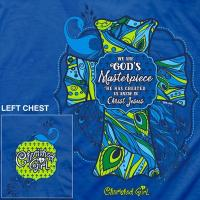 Quality We Are God's Masterpiece Christian T-Shirt for sale