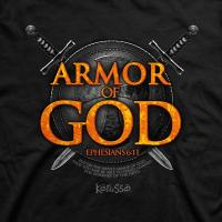 Quality Armor of God Christian T-Shirt for sale