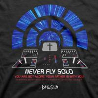 Quality NEVER FLY SOLO T-Shirt for sale