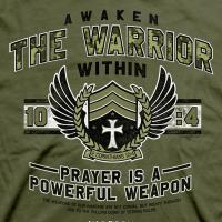 Quality War Room Awaken The Warrior T-Shirt for sale