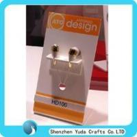 Quality factory wholesale acrylic earphone stand acrylic headphone display stand for sale