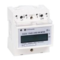 Quality Time Switches Digital DIN rail Single Phase kWh Meter for sale
