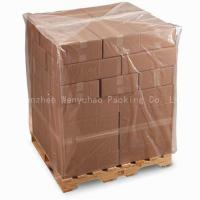 China PE Bag Pallet Cover Bag on sale