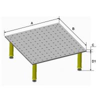 Buy cheap Three dimensional flexible fixture 2S multi function welding platform from wholesalers