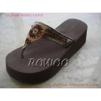 China women's fashion beaded Slipper RW11975 on sale