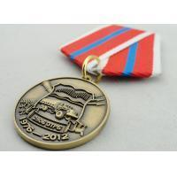 Souvenir Gift Zinc Alloy 3D Custom Medal Awards with Ribbon Two Sides Die Casting for sale