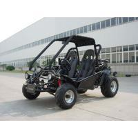Blue 150CC Adult Racing Go Kart Buggy KD 150FS , 2 Seat And Chain Drive for sale