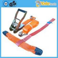 Quality Polyester Webbing Slings Car Lashing Straps, Lashing Belt, Car Ratchet Straps for sale